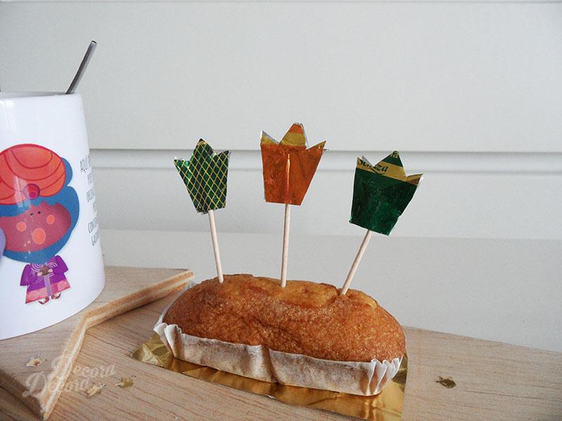 Decoración para el desayuno de Reyes