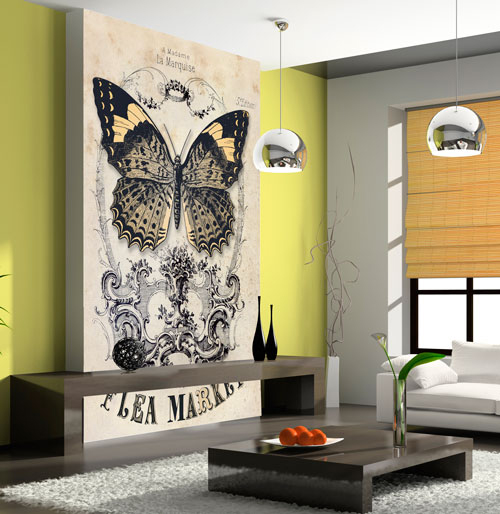 Decorar paredes con murales