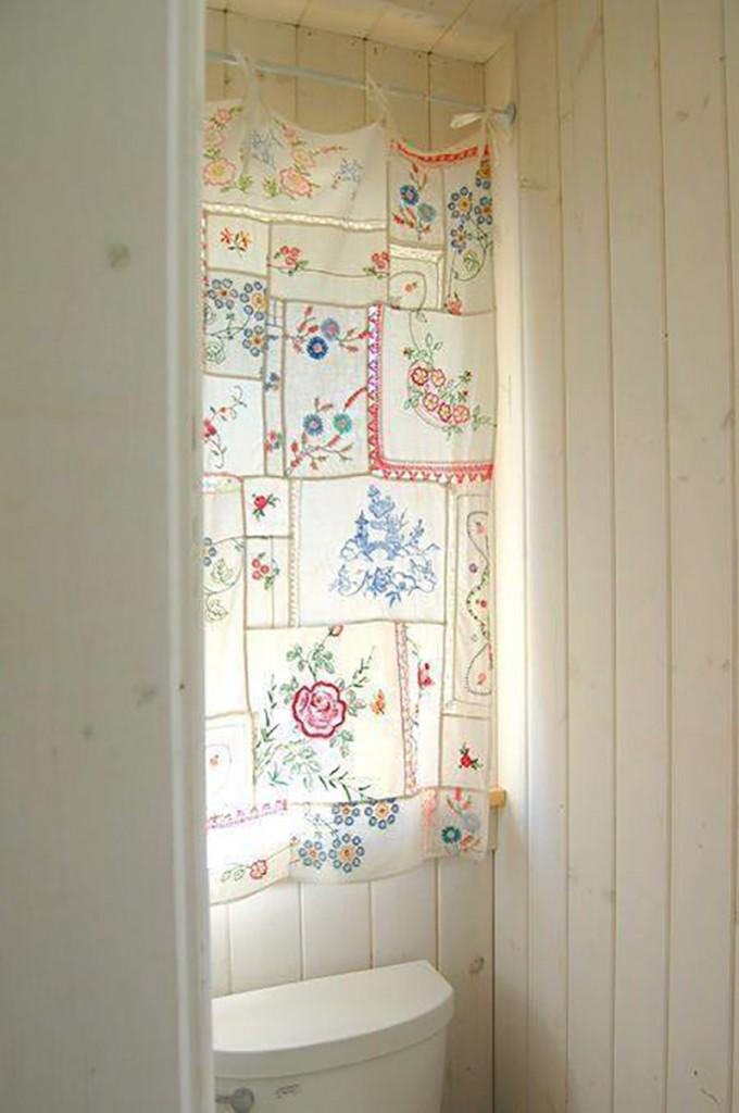 Pañuelos para decorar las ventanas