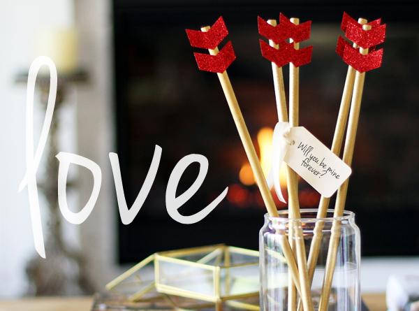 Flechas para San valentín