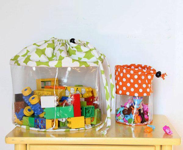 Idea para guardar juguetes