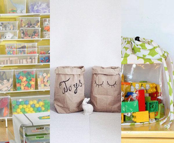 Ideas guardar juguetes