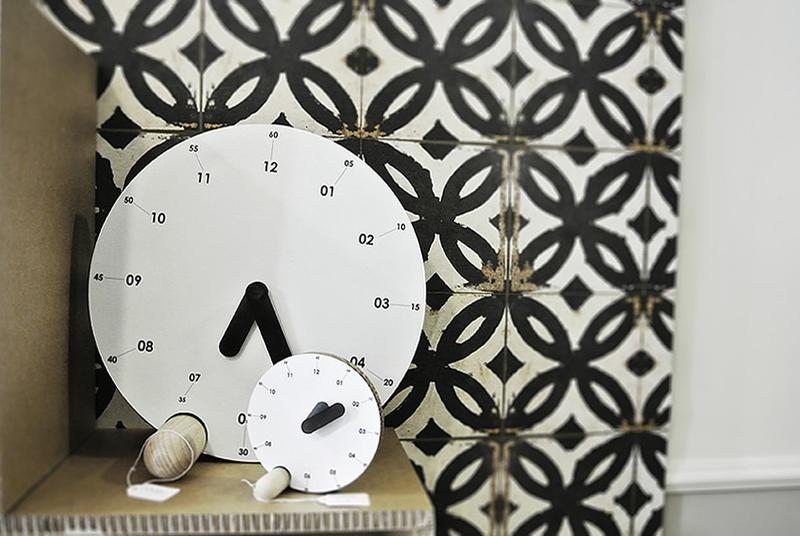 Relojes de cartón