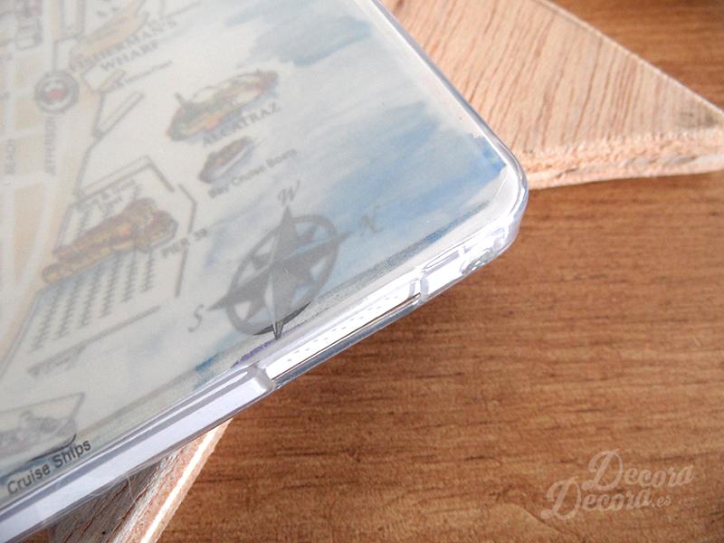 Decorar el móvil con una carcasa transparente