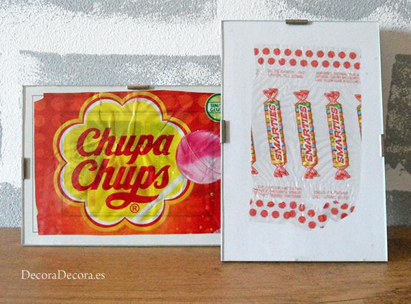 Láminas envoltorios Chupa Chups