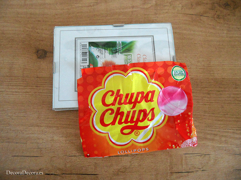 Láminas de Chupa Chups