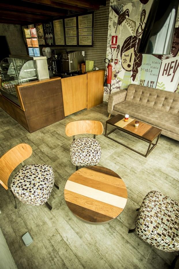Cafetería decoración