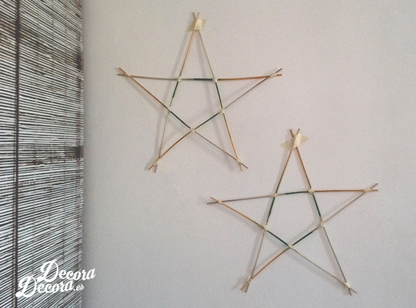 Estrellas mikado