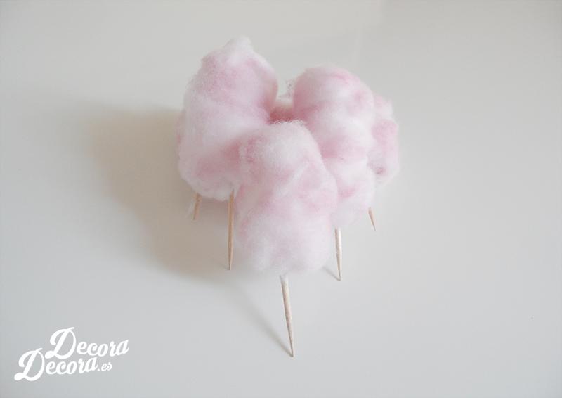Falso algodón de azúcar