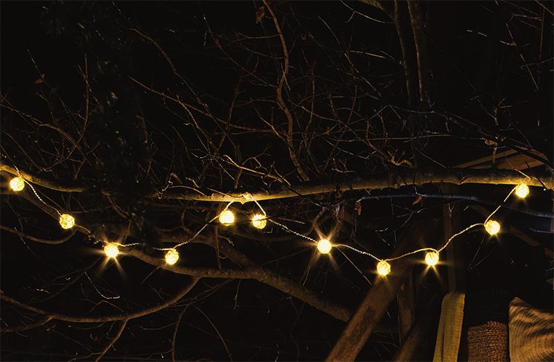 Iluminación en el exterior