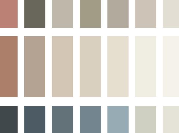 Colores tendencia en pinturas