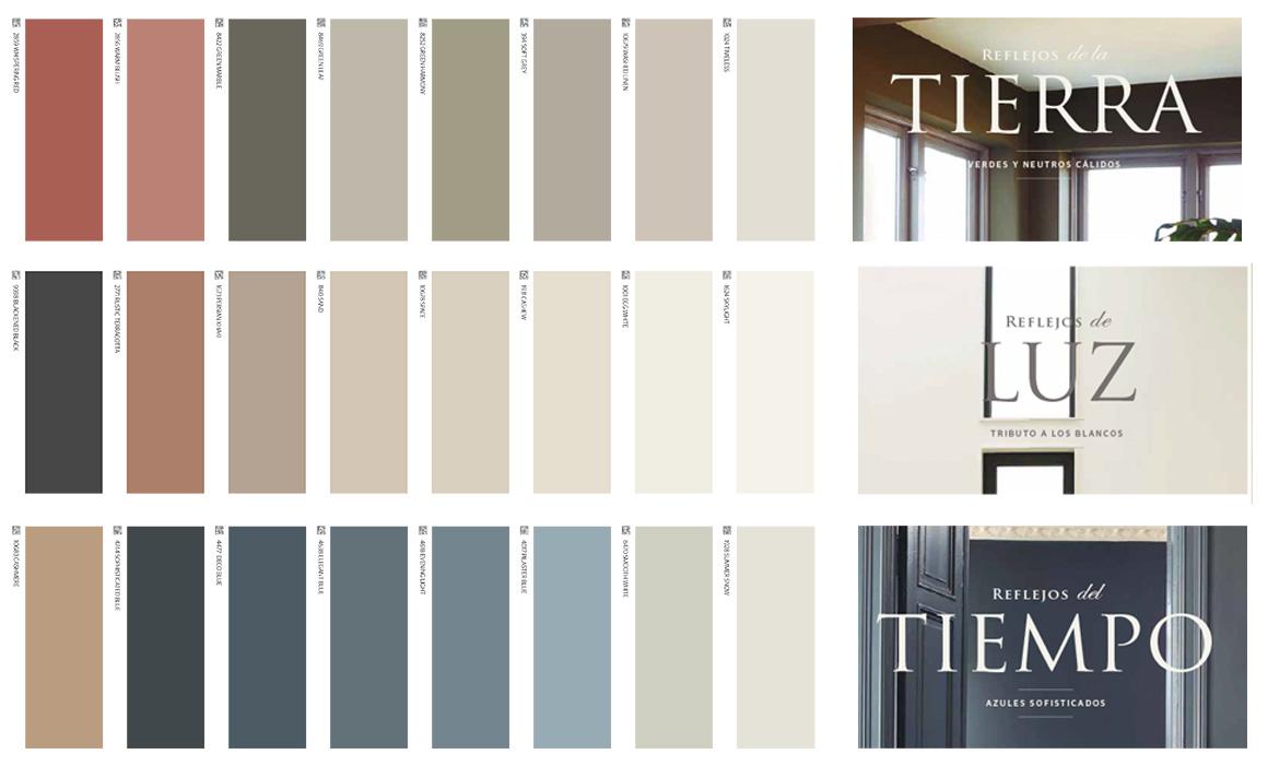 Colores pintura tendencia