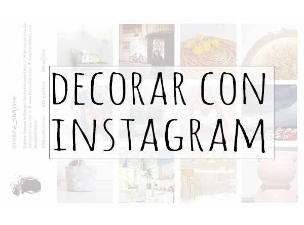 Decorar con fotos de Instagram