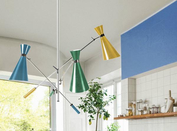 Lámpara para la cocina
