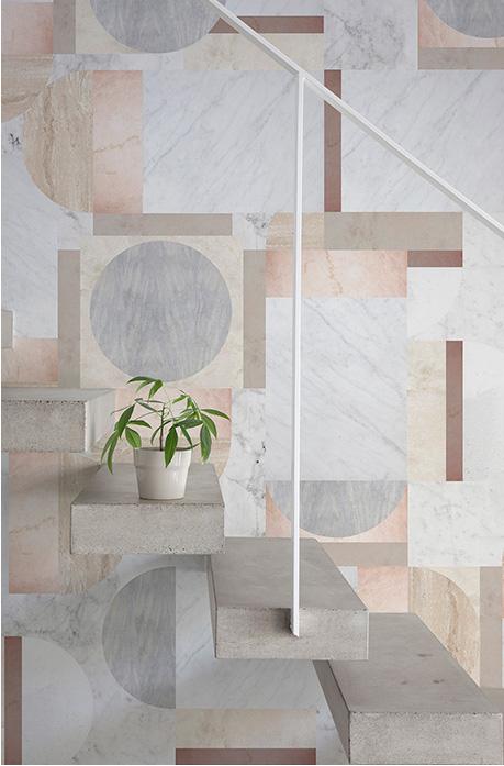Decorar paredes con mármol