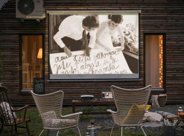Cine de verano en casa