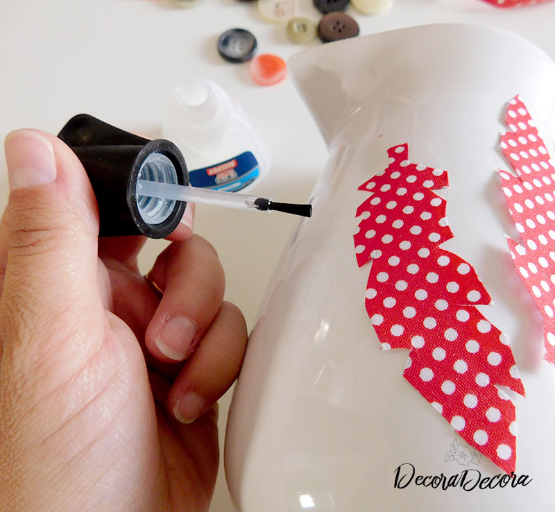 Cómo decorar una jarra