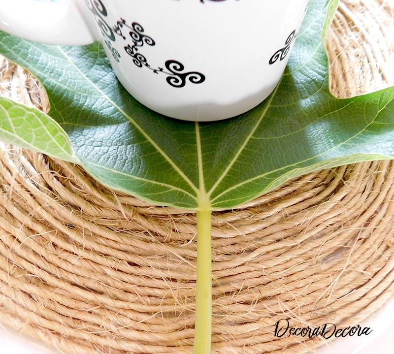 Refrescar con hojas de higuera