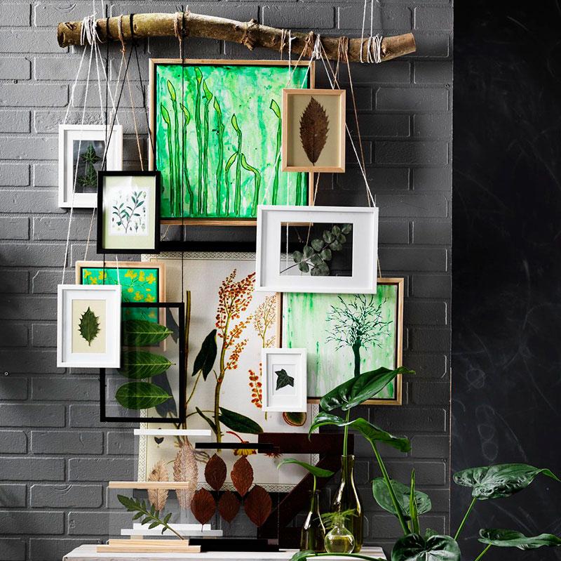 decorar con marcos
