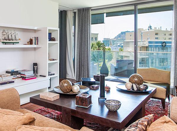 Decoración real de un apartamento