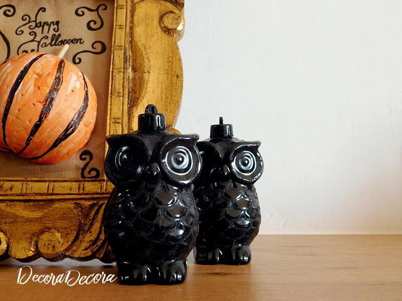 Decoración de Halloween hecha a mano