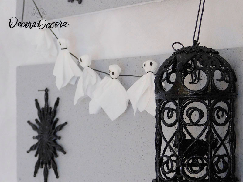 Una manualidad para decorar en Halloween