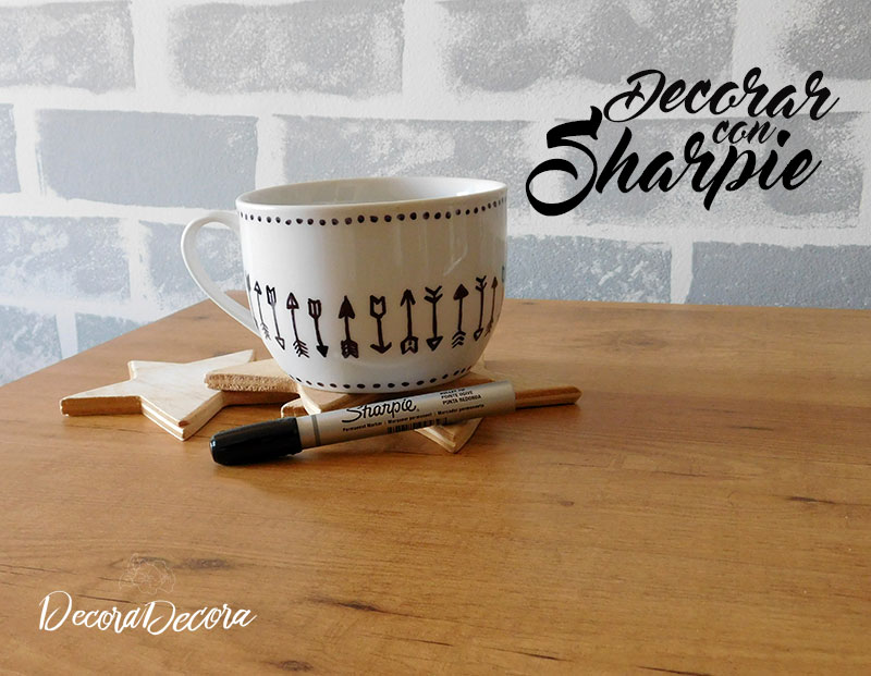 Decorar con Sharpie