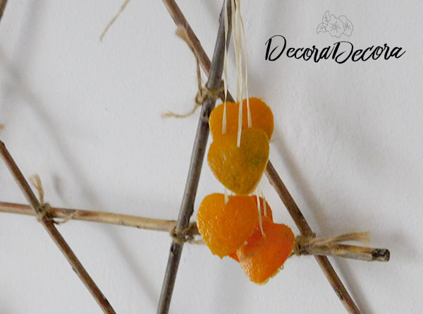 Decorar con naranjas