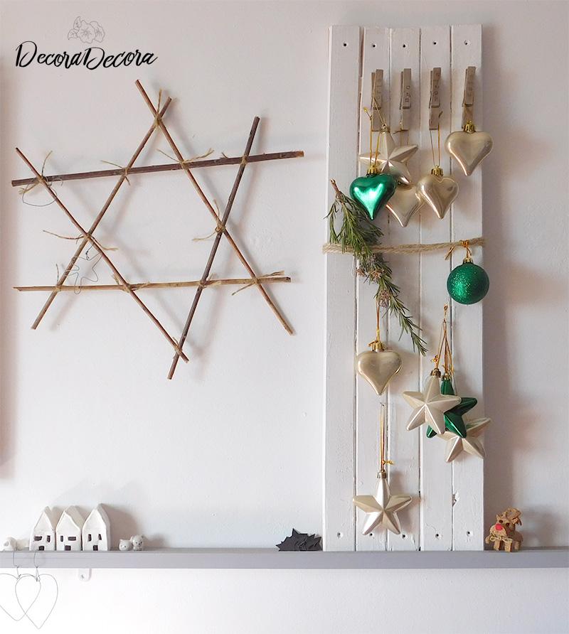 Tablero para decorar en Navidad