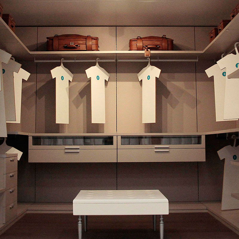 Organizar un armario