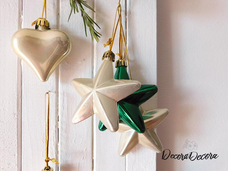 Decoración de Navidad con un tablero