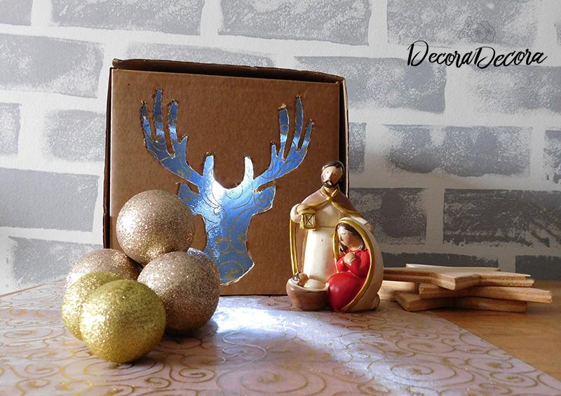 Caja de luz de Navidad