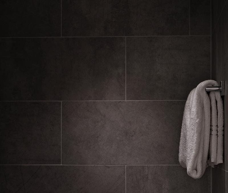 Una ducha en lugar de una bañera
