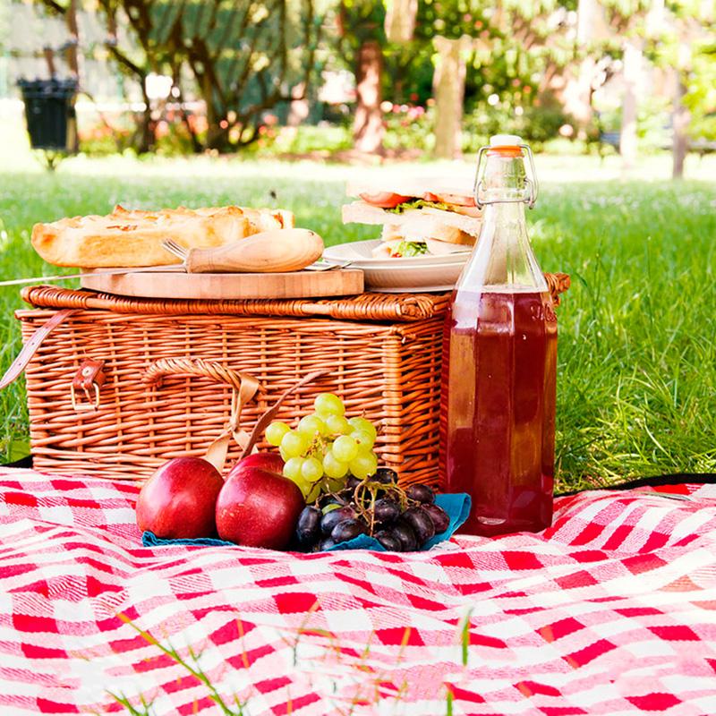 Montar un picnic
