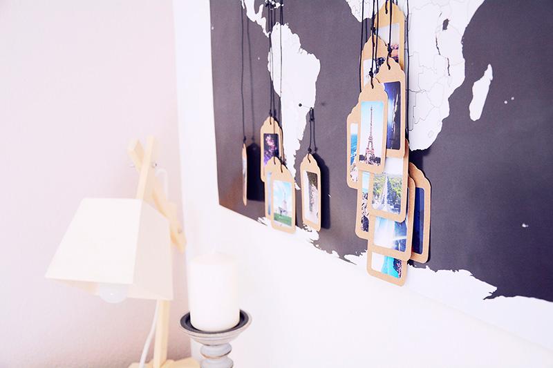 Mapas de viajes decorativos