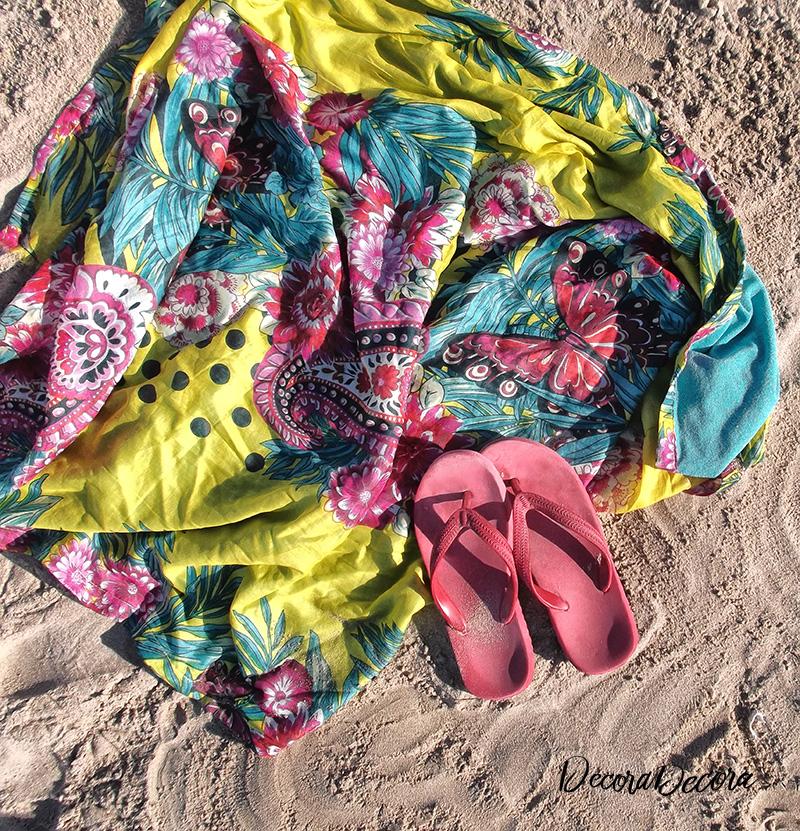 Toalla pareo de playa