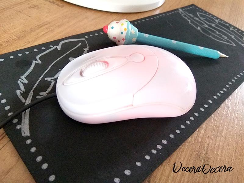 Alfombrilla de ratón hecha a mano
