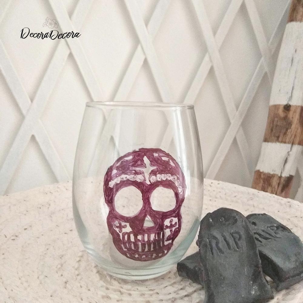 Calavera para decorar Halloween